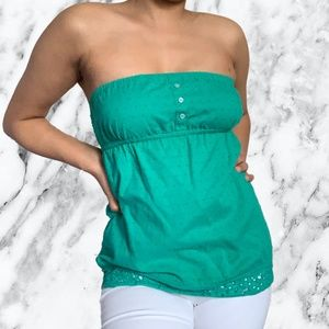 3 for $15 Garage Turquoise Tube Top